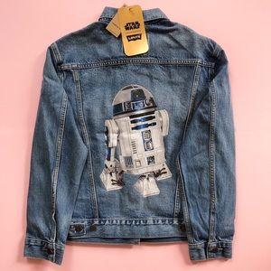Levi's x Star Wars R2-D2 Denim Jacket - Sz S NWT